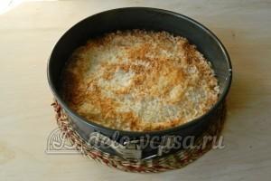 Кокосовый пирог со сливками: Выпекаем пирог