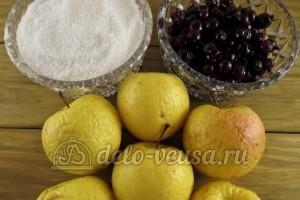 Компот из яблок и черной смородины: Ингредиенты
