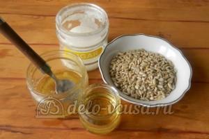 Козинаки из семечек: Ингредиенты
