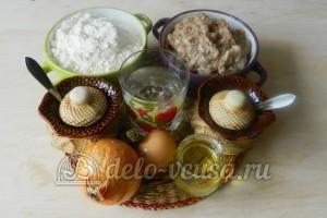 Крымские чебуреки: Ингредиенты
