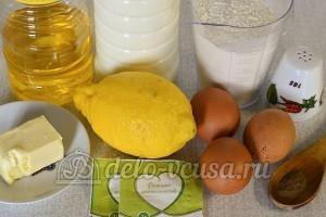 Лимонные блины: Ингредиенты