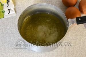 Лимонные блины: Растопить сливочное масло