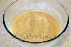 Лимонные блины: Взбить тесто