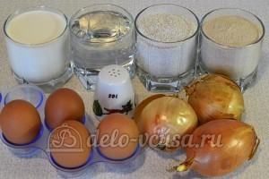 Луковые блины: Ингредиенты