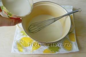 Молочный кисель: Соединить ингредиенты