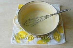 Молочный кисель: Варим до загустения