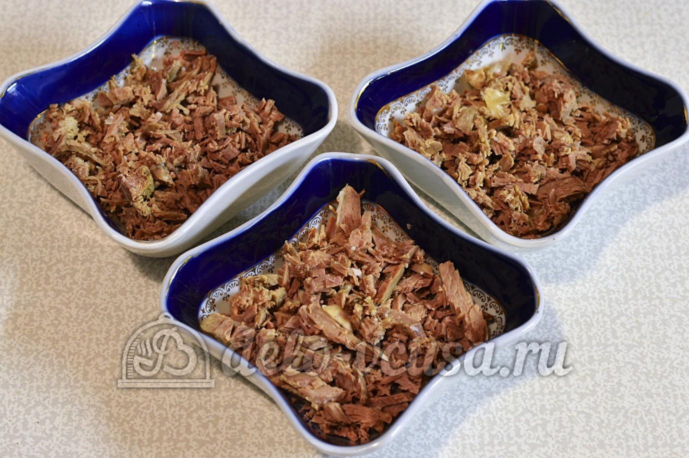 салат мясной с яблоками рецепты