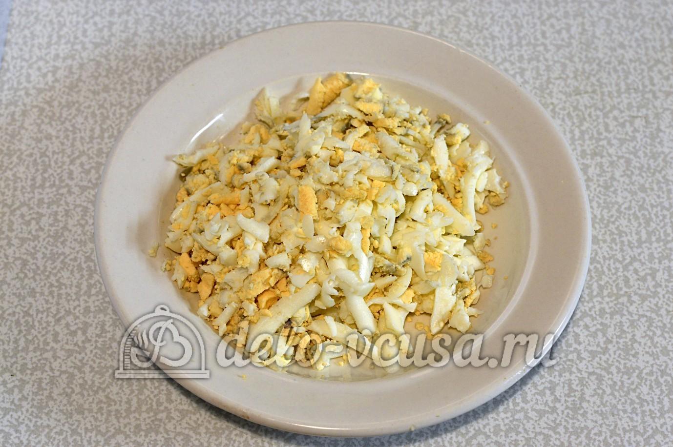 рецепт салата с сыром яблоком и луком и
