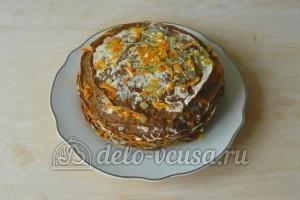 Печеночный торт из свиной печени: Формируем торт