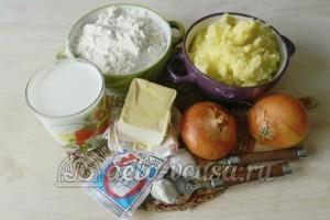 Печеные пирожки с картошкой: Ингредиенты