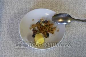 Кекс со смородиной: Очищаем имбирь