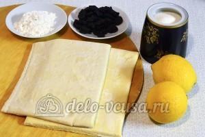 Лимонный рулет с начинкой: Ингредиенты