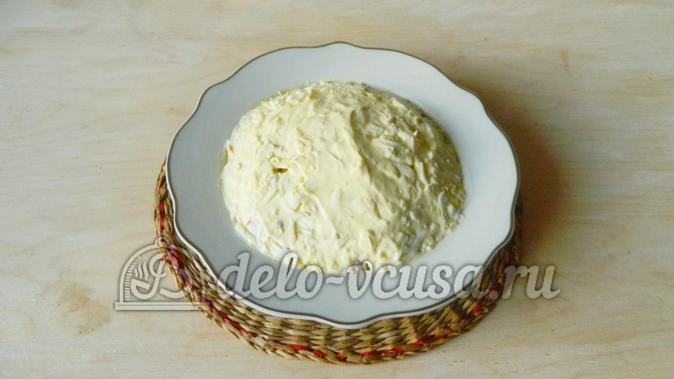 рецепт салата из колбасы помидоров и яиц