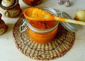 Соус из соленых помидоров