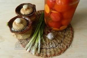 Соус из соленых помидоров: Ингредиенты