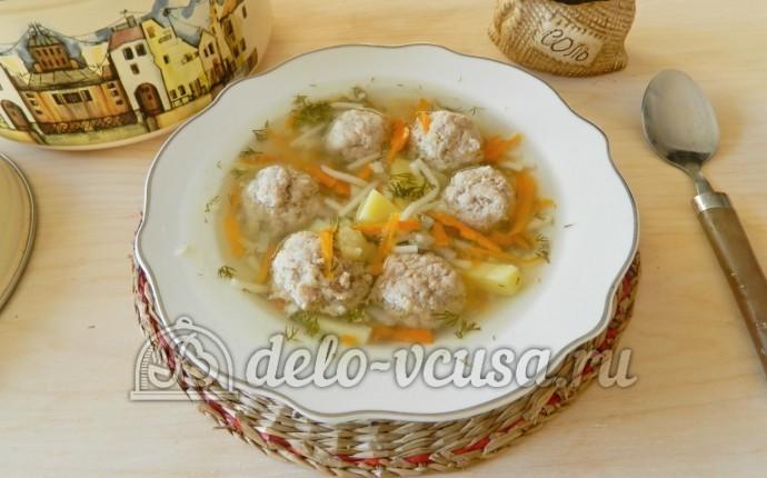 суп из фрикаделек рецепт в мультиварке с вермишелью
