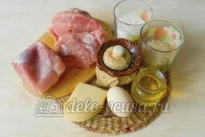 Свиная отбивная с сыром в духовке: Ингредиенты