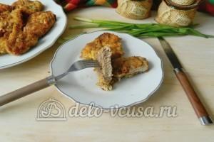 Свиная отбивная с сыром в духовке: