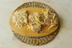 Свиная отбивная с сыром в духовке: Обваливаем все отбивные