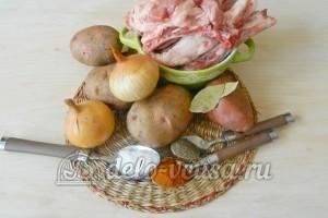 Свиные ребрышки в пакете для запекания: Ингредиенты