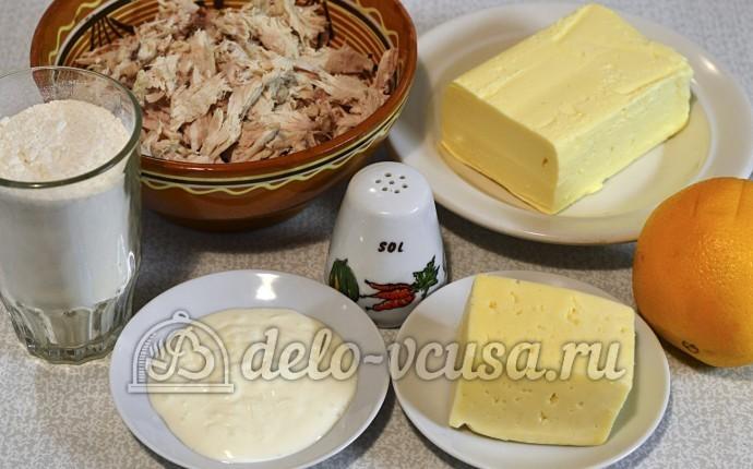 Тарталетки с курицей и апельсином: Ингредиенты