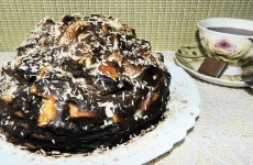 Торт Графские развалины бисквит