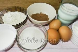 Торт Графские развалины бисквит: Ингредиенты