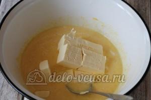 Торт Улей: Добавить маргарин