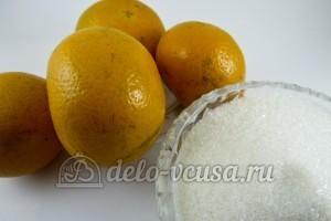 Варенье из мандариновых корок: Ингредиенты