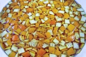 Варенье из мандариновых корок: Шкурки залить водой