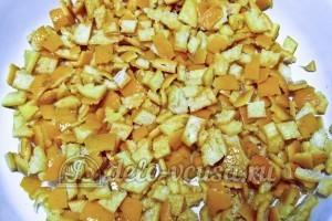 Варенье из мандариновых корок: Шкурки промыть