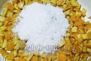 Варенье из мандариновых корок: Добавить сахар