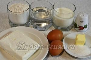 Вареники с творогом: Ингредиенты
