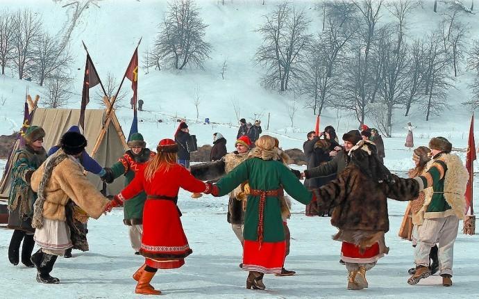 Языческая Масленица у древних славян