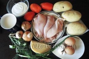 Куриное филе Сюрприз: Ингредиенты