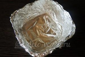 Куриное филе Сюрприз: Готовим формочки для запекания