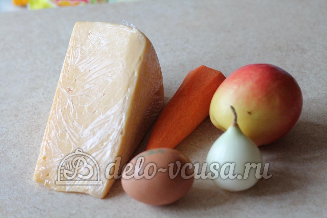 рецепт салата с морковью и сыром