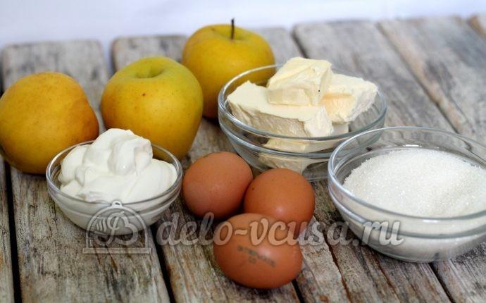 Английский яблочный пирог: Ингредиенты
