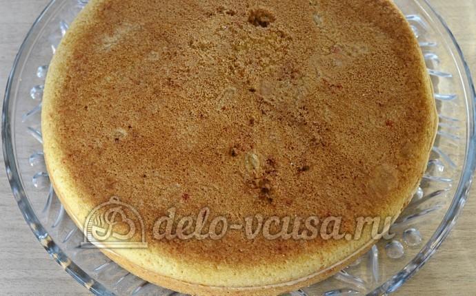 Бисквит с масляным кремом рецепт с фото