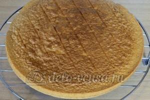 Бисквитный торт с масляным кремом: Выпекаем бисквит