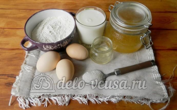 Блины со сгущенкой: Ингредиенты