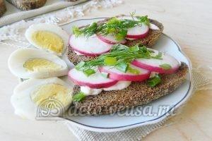 Бутерброды с редиской