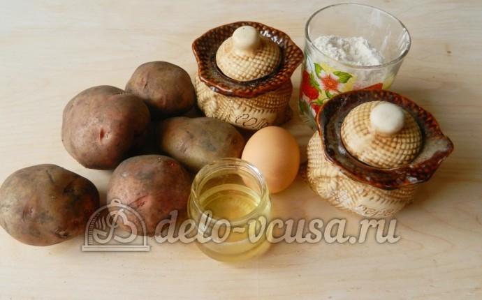 Финские картофельные лепешки: Ингредиенты