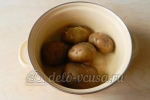 Финские картофельные лепешки: Сварить картошку