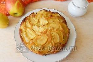 Пирог-перевертыш с яблоками: Перевернуть пирог