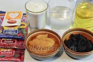 Кексы из сухого киселя: Ингредиенты