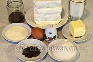 Кофейный чизкейк: Ингредиенты
