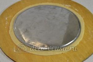Кофейный чизкейк: Раскатываем тесто