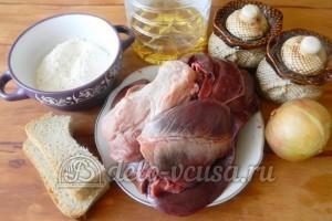 Котлеты из ливера: Ингредиенты