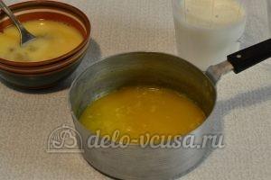 Быстрый кулич: Растопить сливочное масло